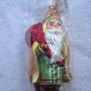 Christopher Radko Christmas Ornament  Golden Hood